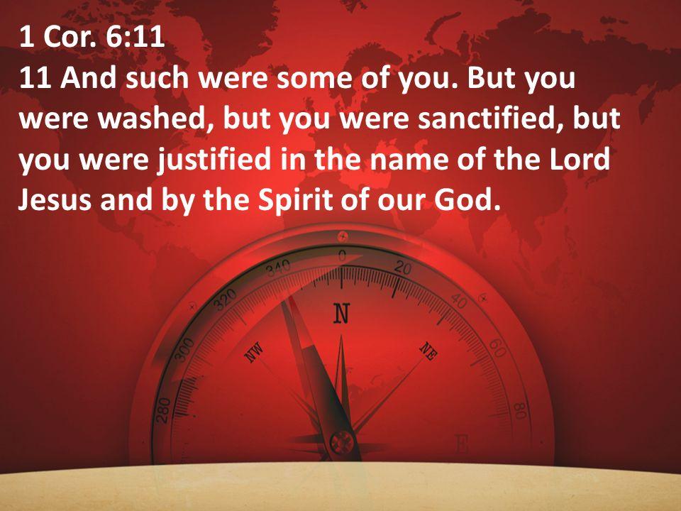 1 Cor. 6:11