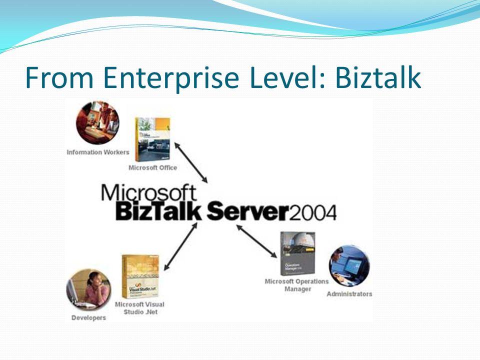 From Enterprise Level: Biztalk