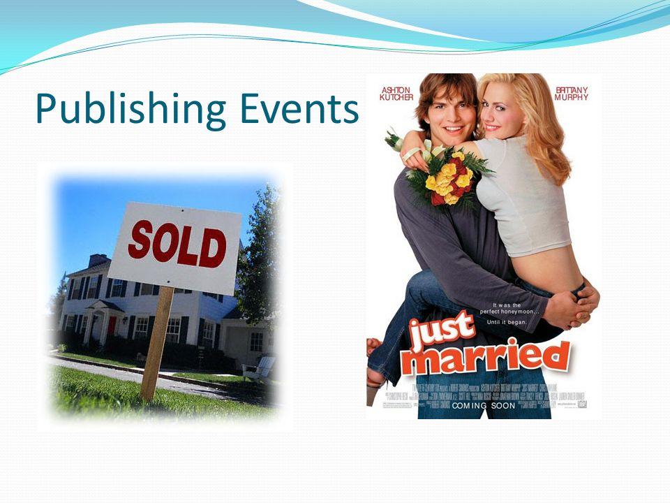 Publishing Events