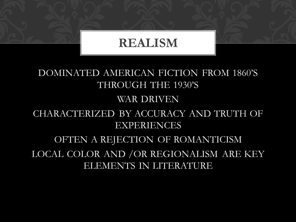 romanticism in literature was characterized by