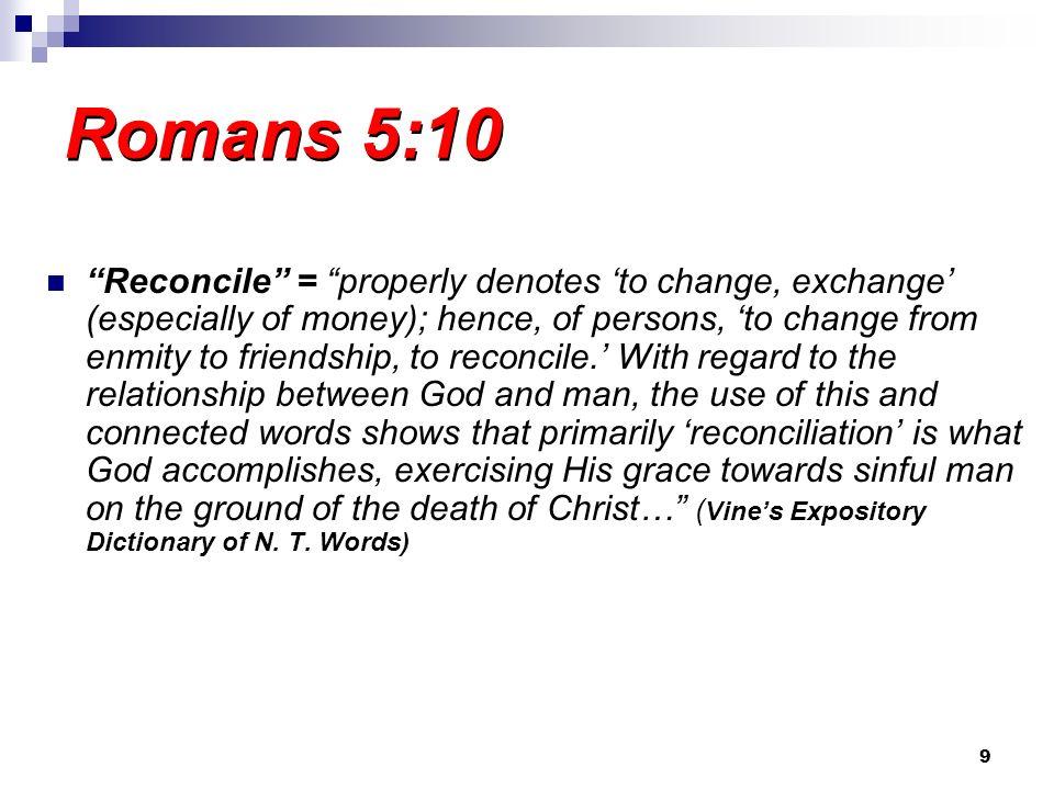 2/14/2010 am Romans 5:10.