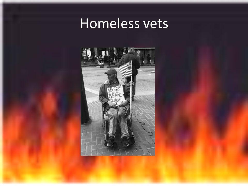 Homeless vets