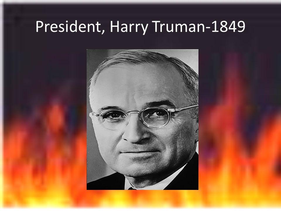 President, Harry Truman-1849