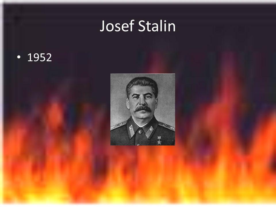 Josef Stalin 1952