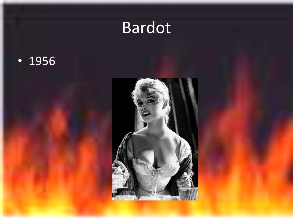 Bardot 1956