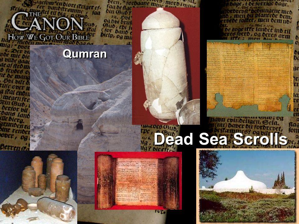 Dead Sea Scrolls Qumran
