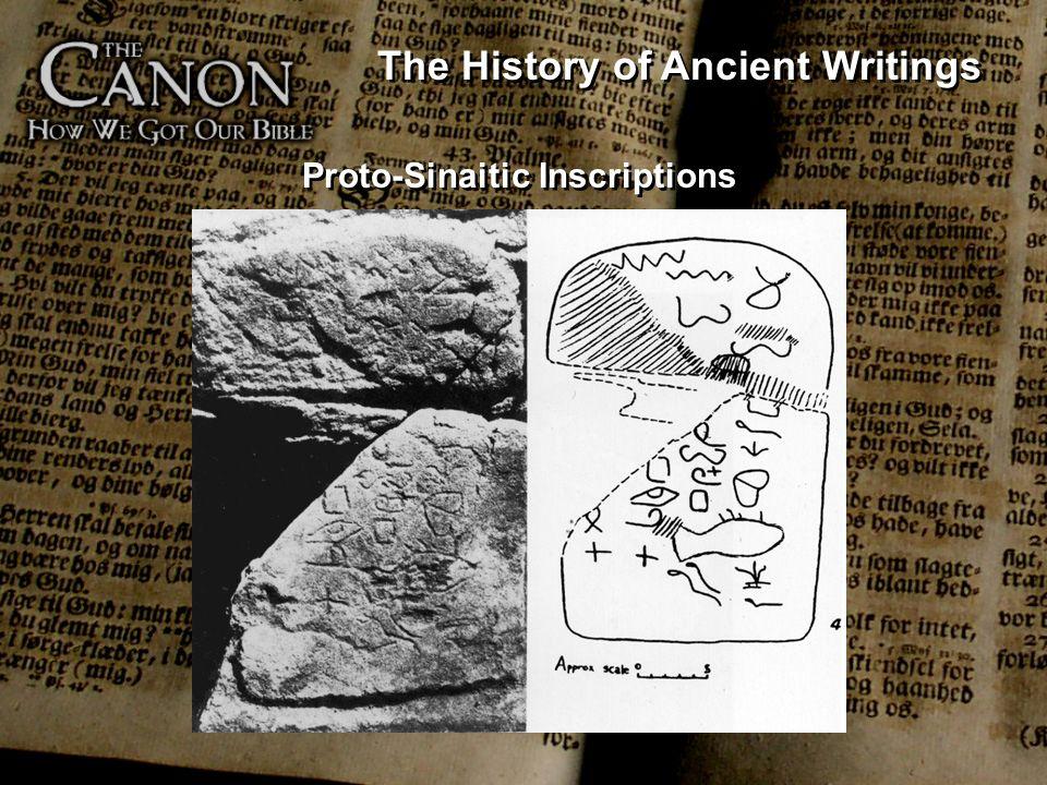 Proto-Sinaitic Inscriptions