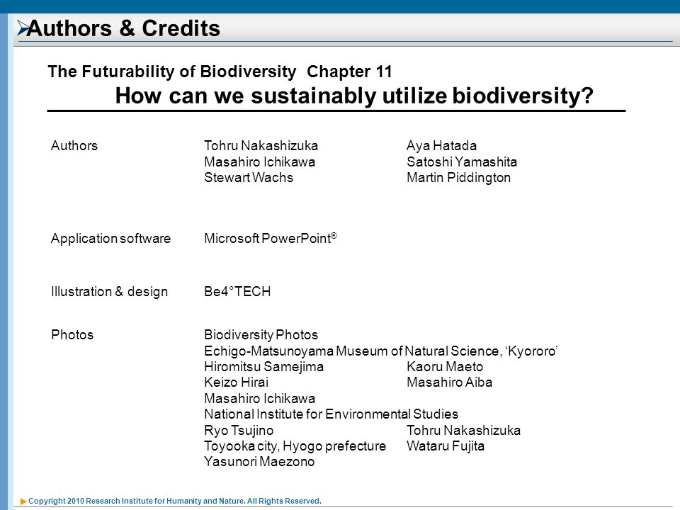 How can we sustainably utilize biodiversity