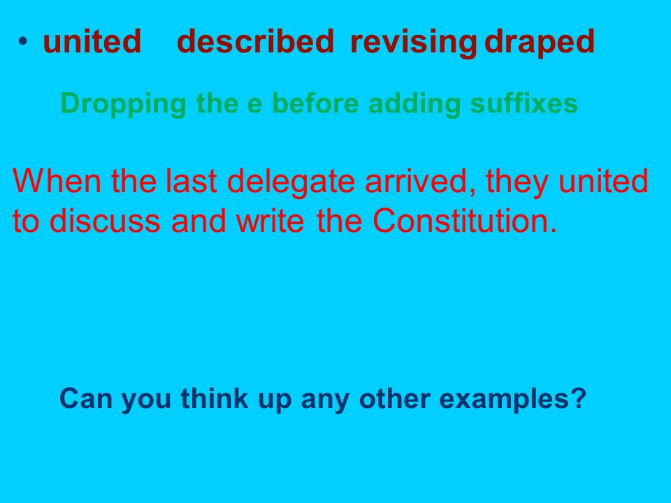 united described revising draped