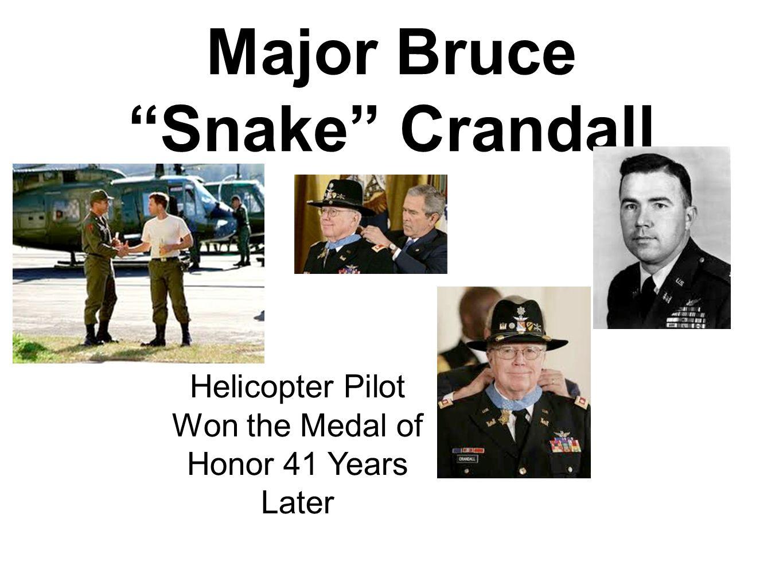 Major Bruce Snake Crandall