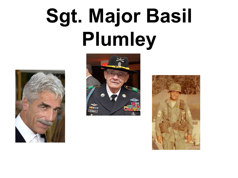 Sgt. Major Basil Plumley
