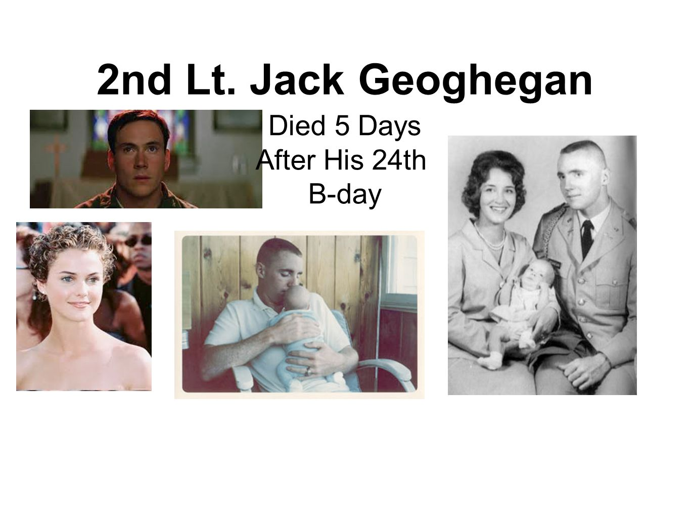 2nd Lt. Jack Geoghegan Died 5 Days After His 24th B-day