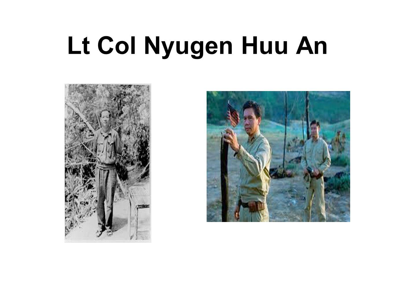 Lt Col Nyugen Huu An