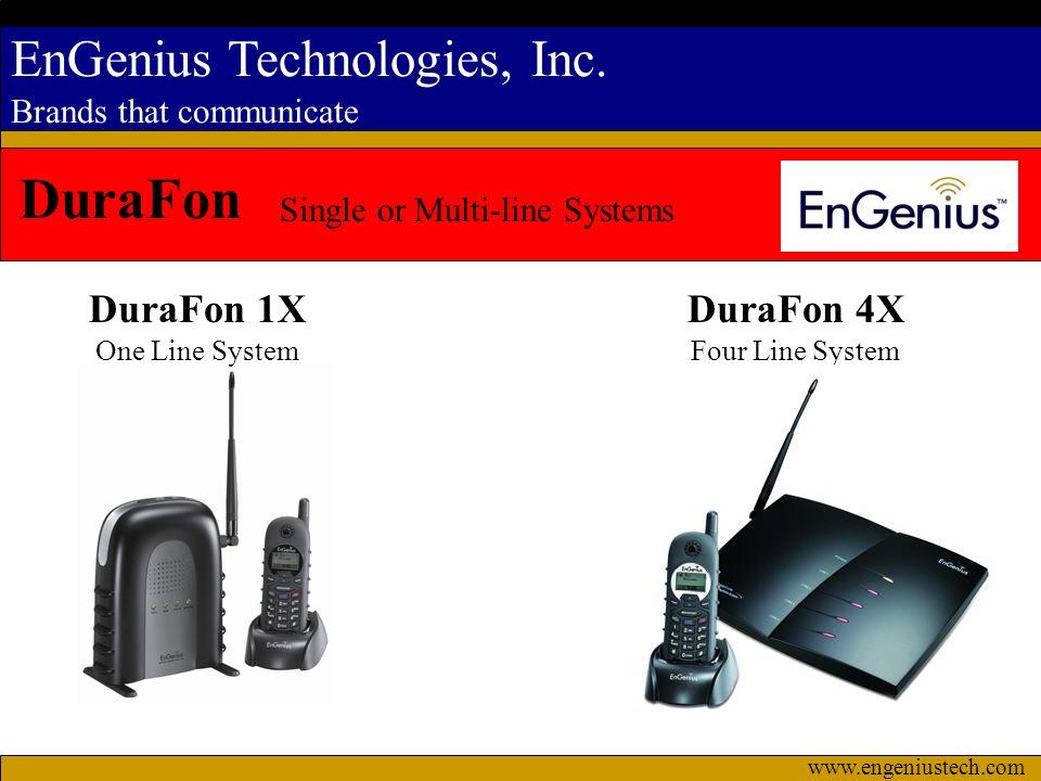 DuraFon DuraFon 1X DuraFon 4X Single or Multi-line Systems