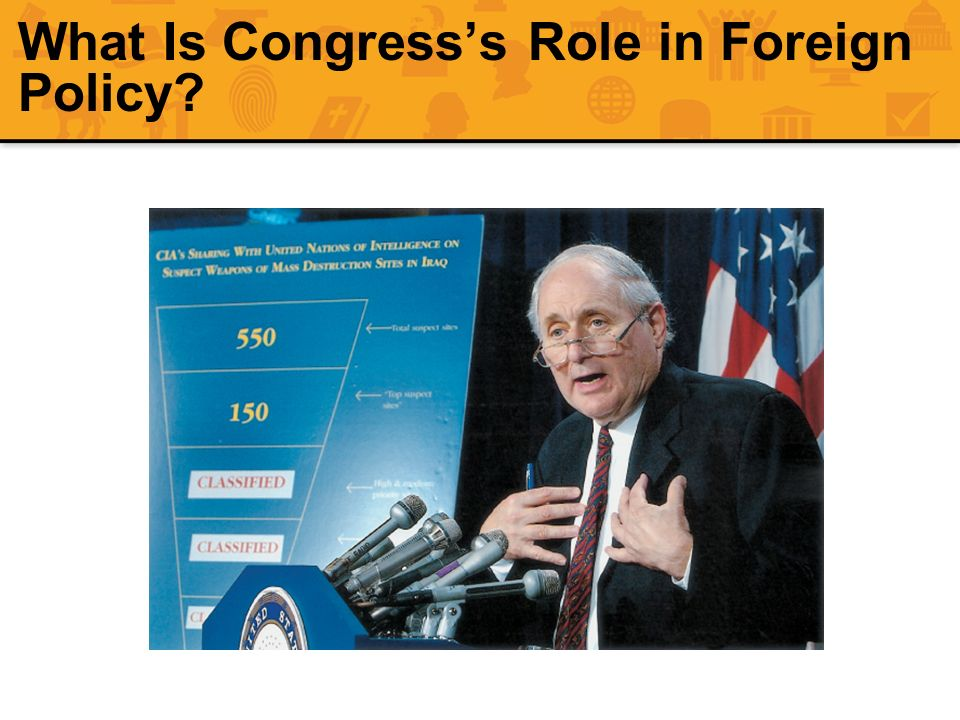 What Is Congress's Role in Foreign Policy