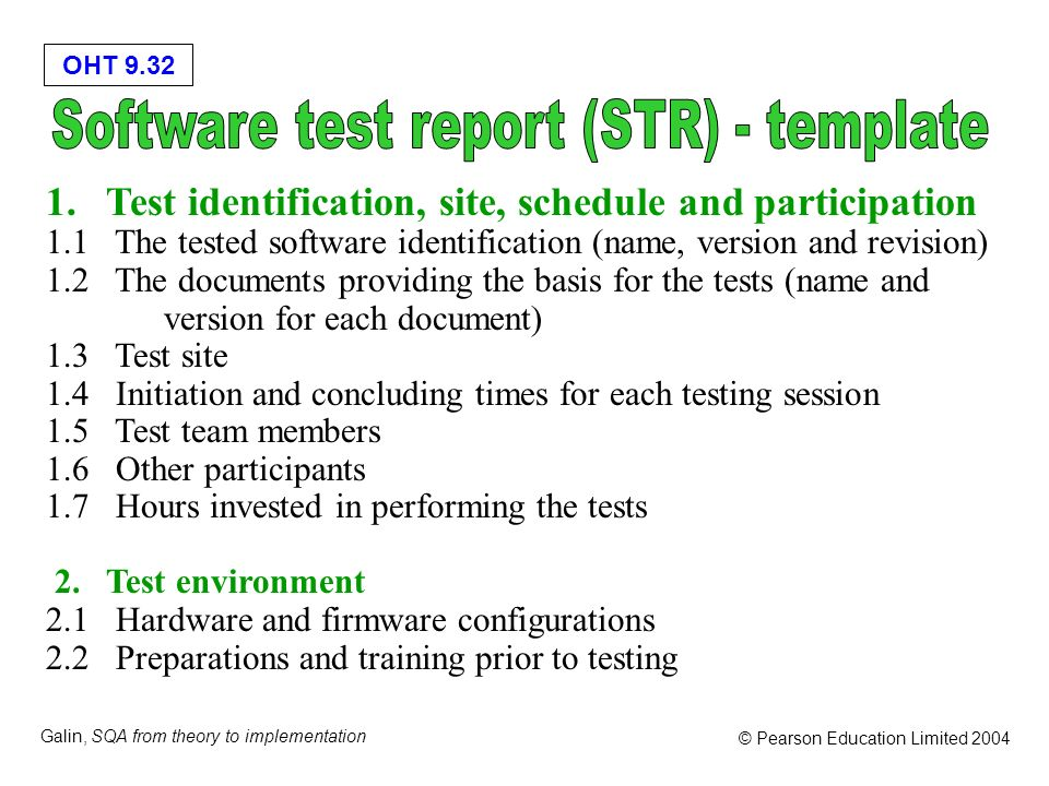 Software testing strategies ppt video online download for Software testing schedule template