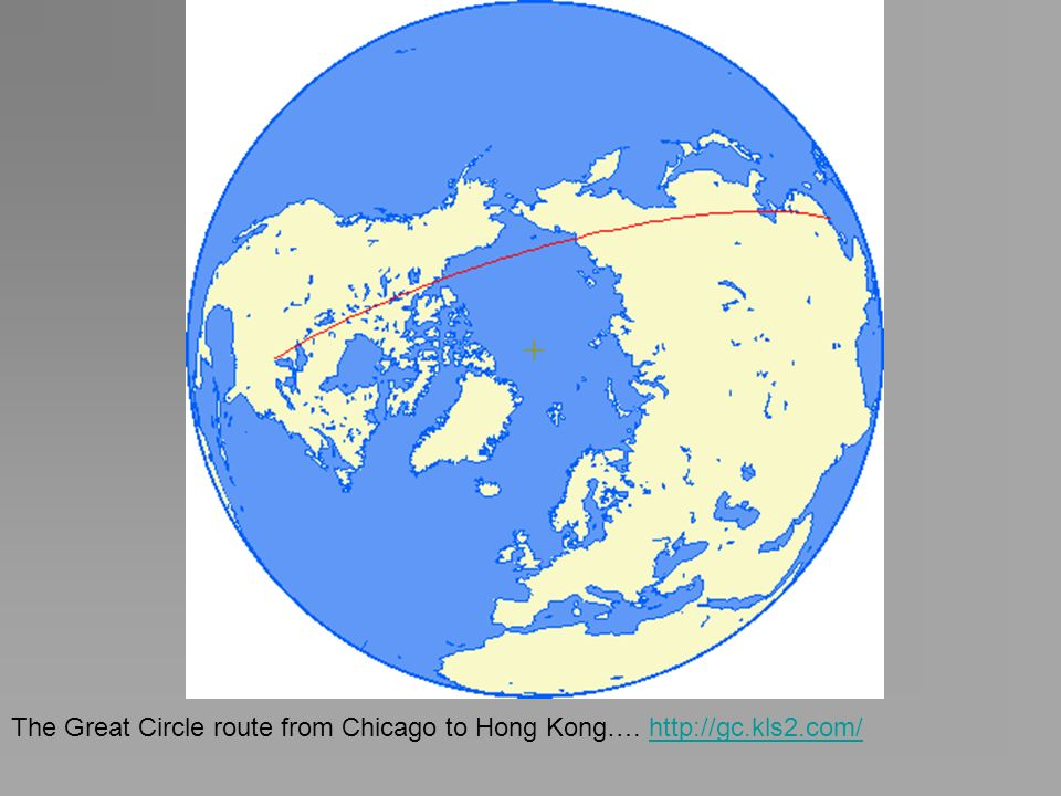 The Great Circle route from Chicago to Hong Kong…. http://gc.kls2.com/