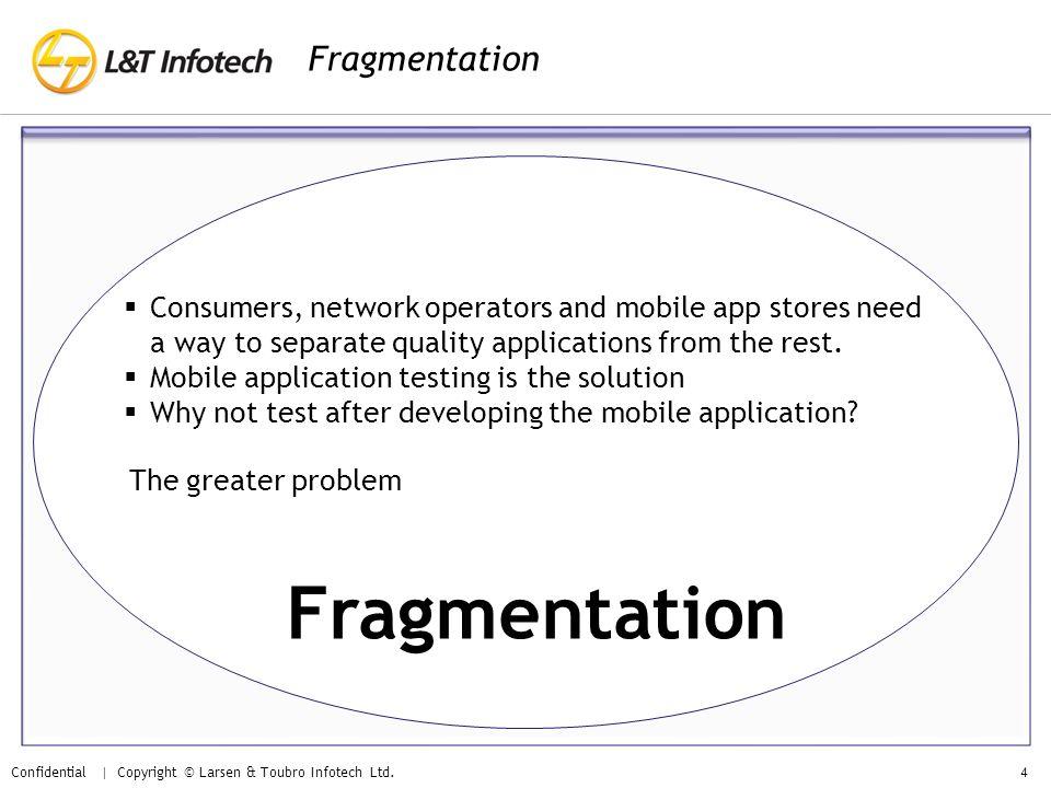 Fragmentation Fragmentation