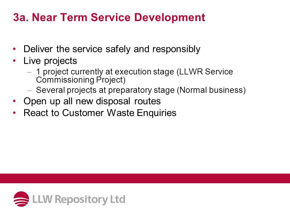 3a. Near Term Service Development