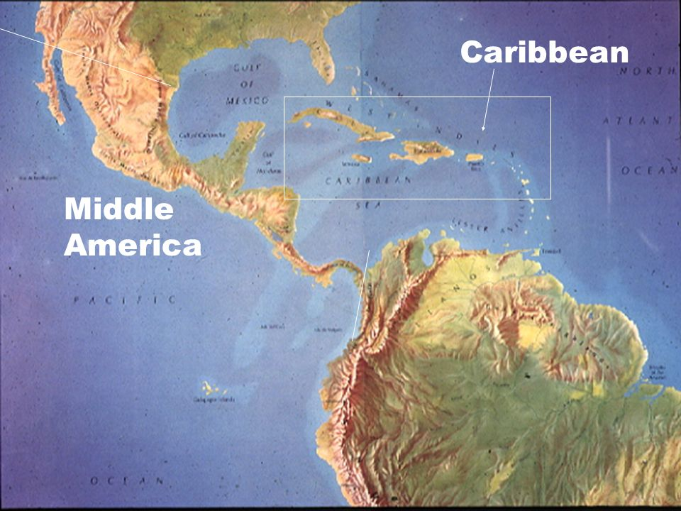 Caribbean Middle America