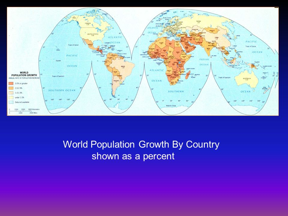 World Population Growth By Country