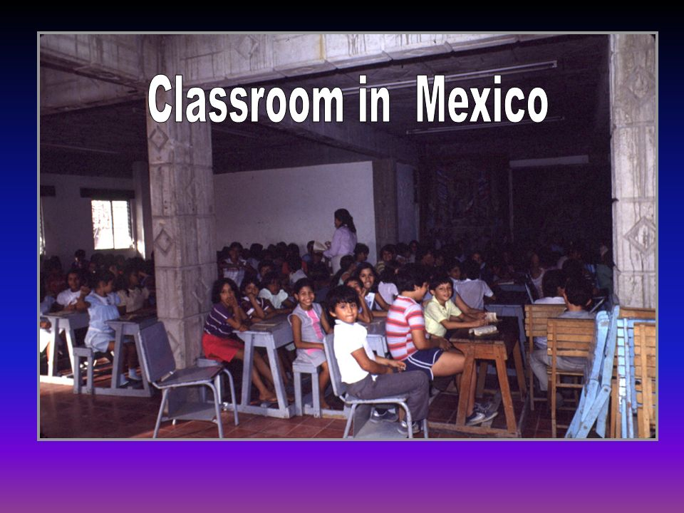 Classroom in Mexico