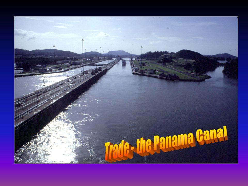 Trade - the Panama Canal