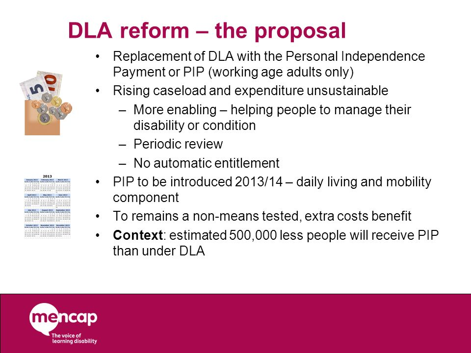 DLA reform – the proposal