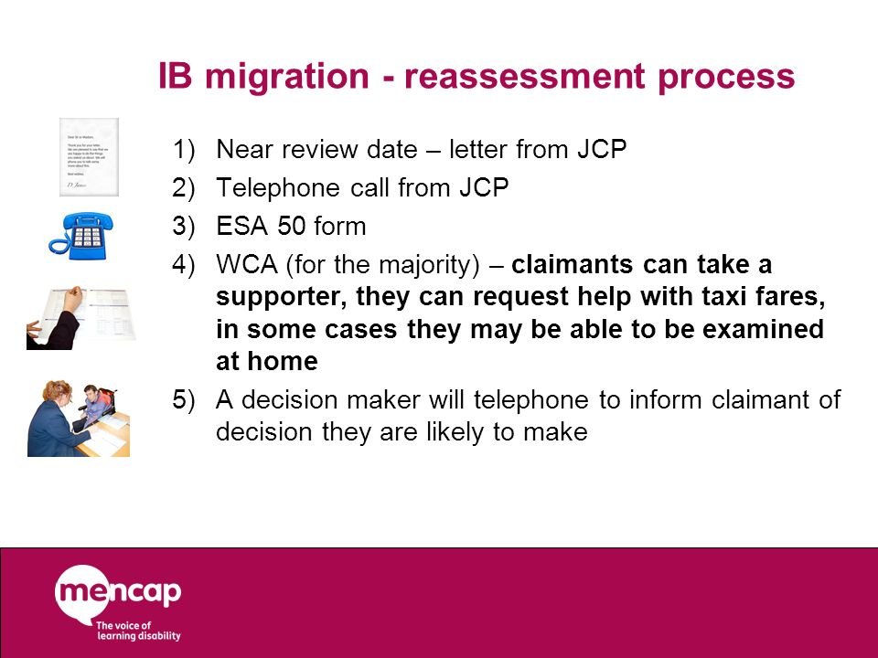 IB migration - reassessment process