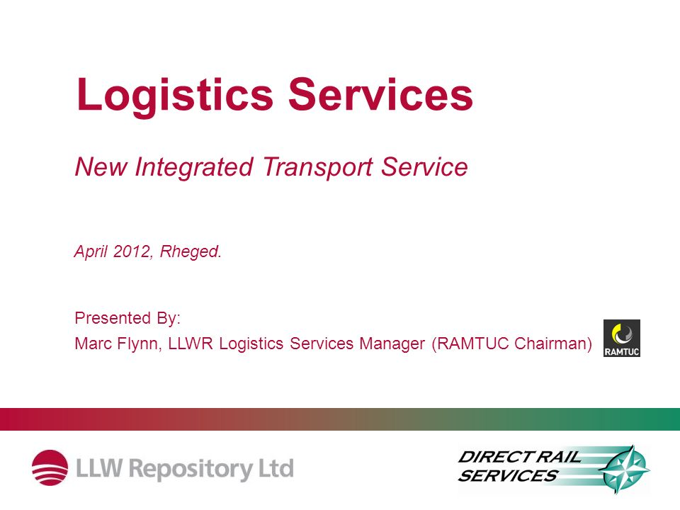 Logistics Services New Integrated Transport Service