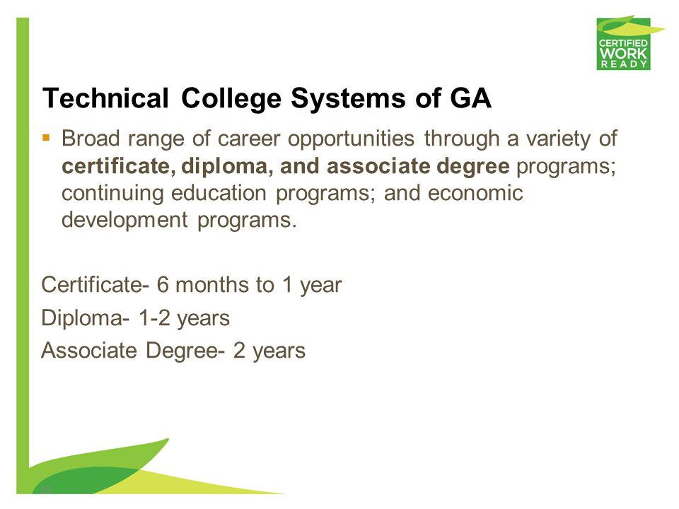 Technical College Systems of GA