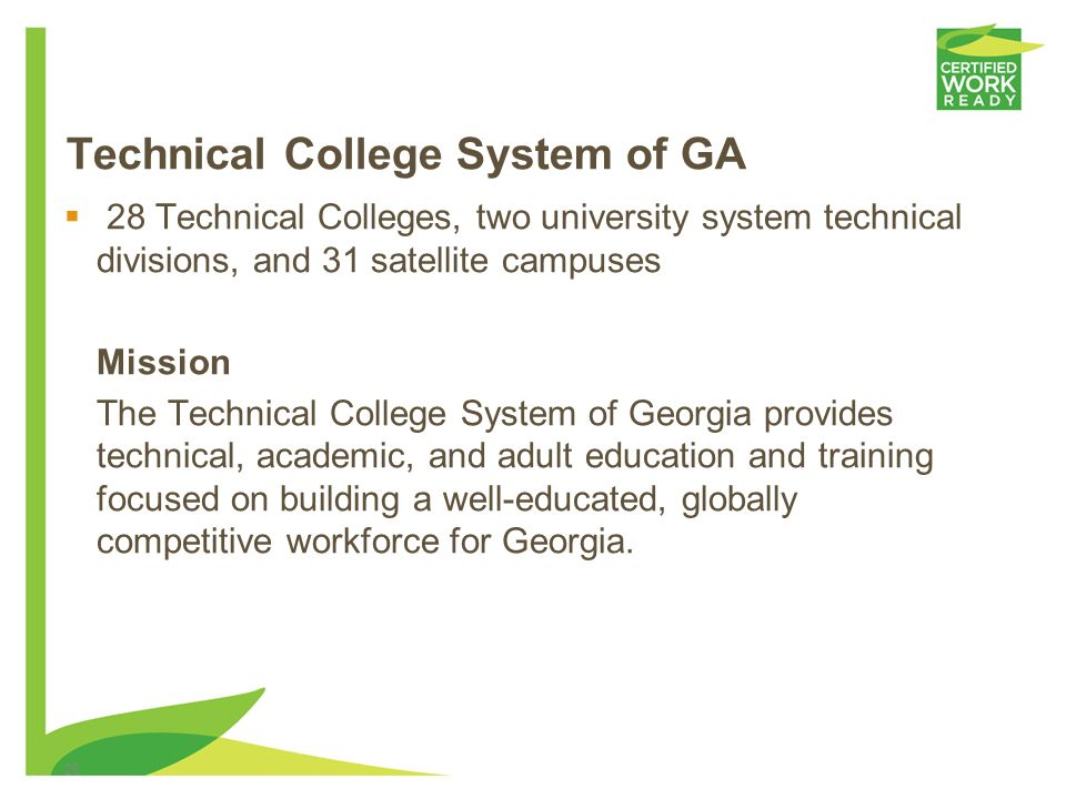 Technical College System of GA