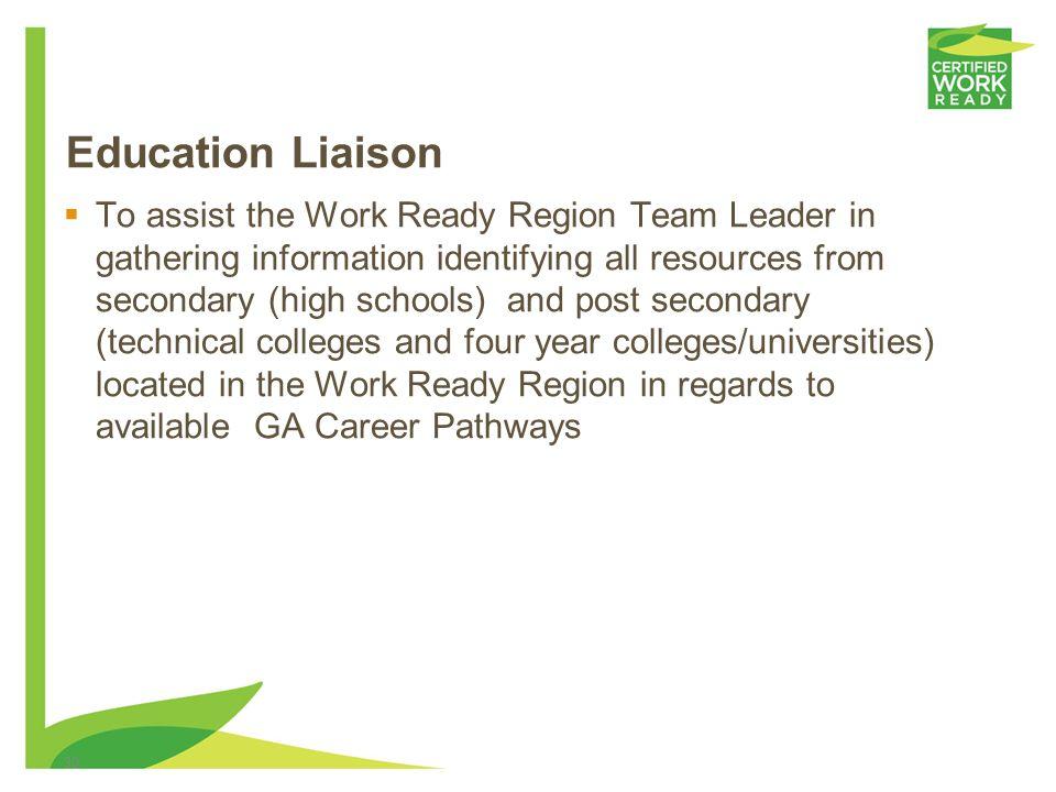 Education Liaison