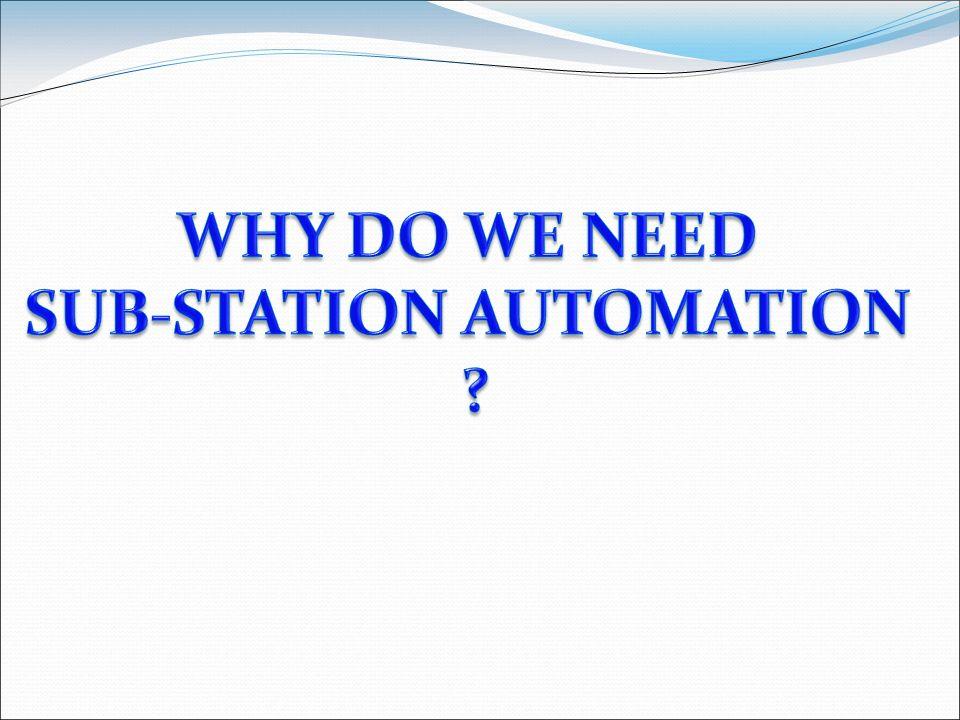 SUB-STATION AUTOMATION