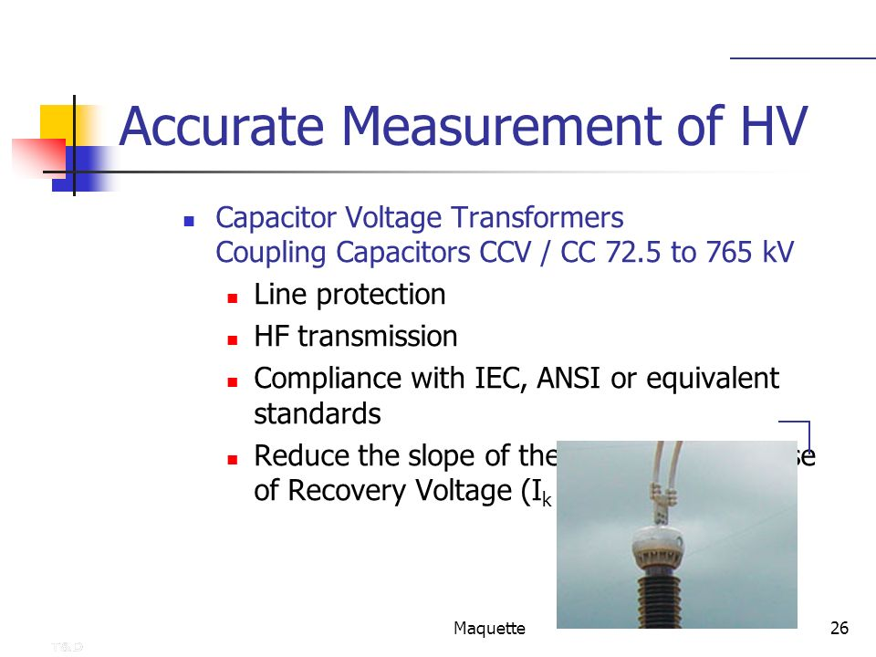 Accurate Measurement of HV