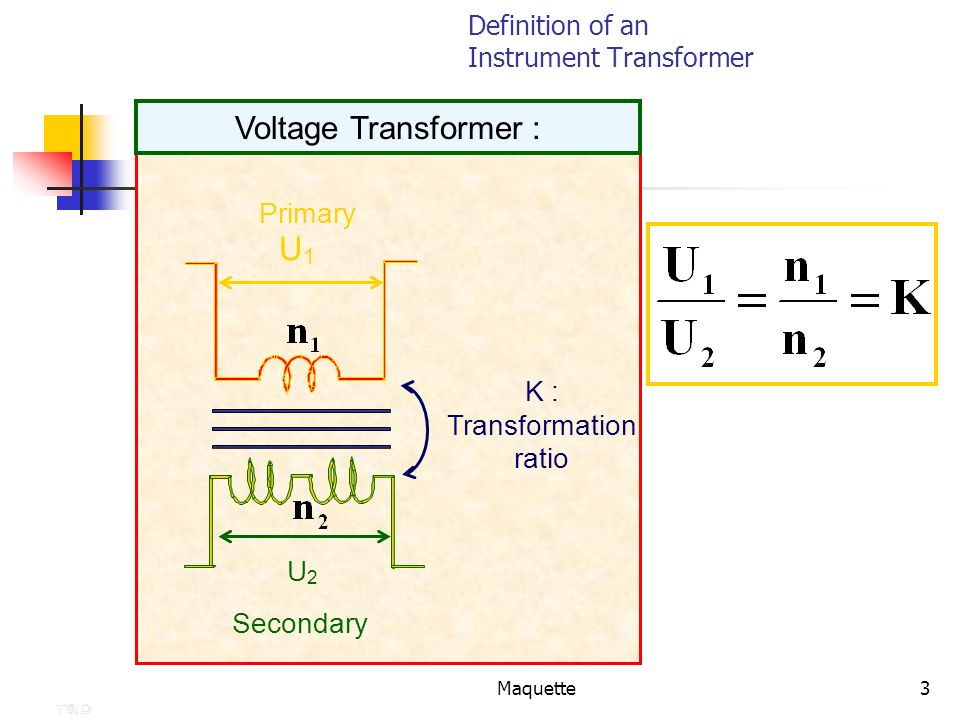 Definition of an Instrument Transformer
