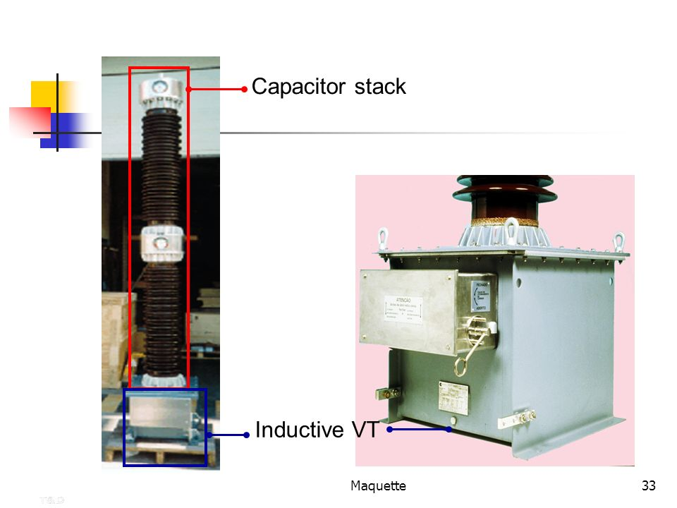Capacitor stack Inductive VT Maquette