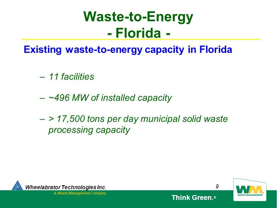 Waste-to-Energy - Florida -