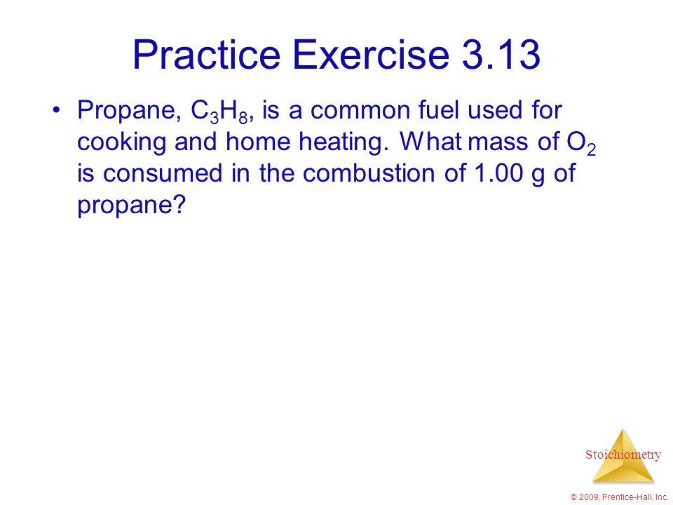 Practice Exercise 3.13