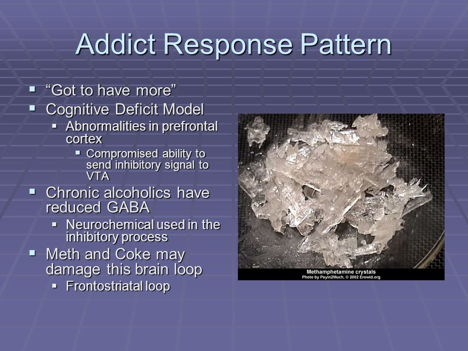 Addict Response Pattern