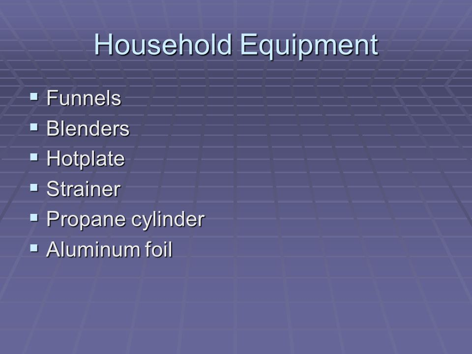 Household Equipment Funnels Blenders Hotplate Strainer