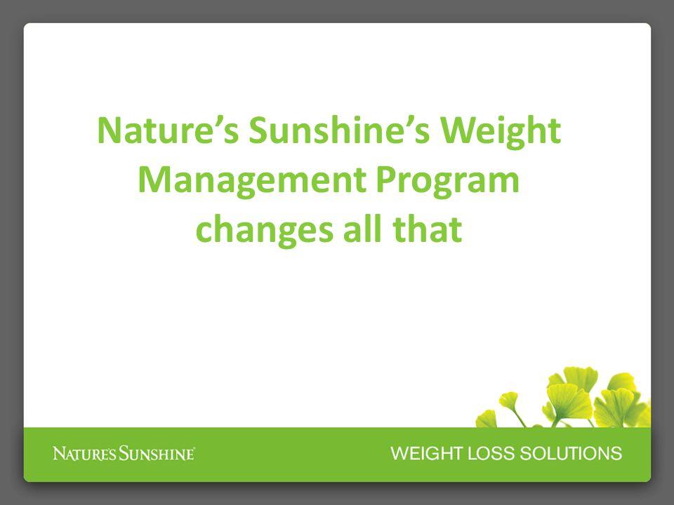 Nature's Sunshine's Weight Management Program