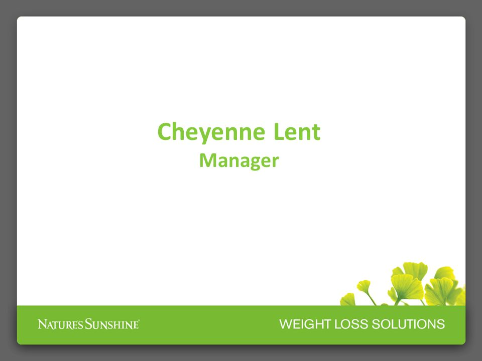 Cheyenne Lent Manager