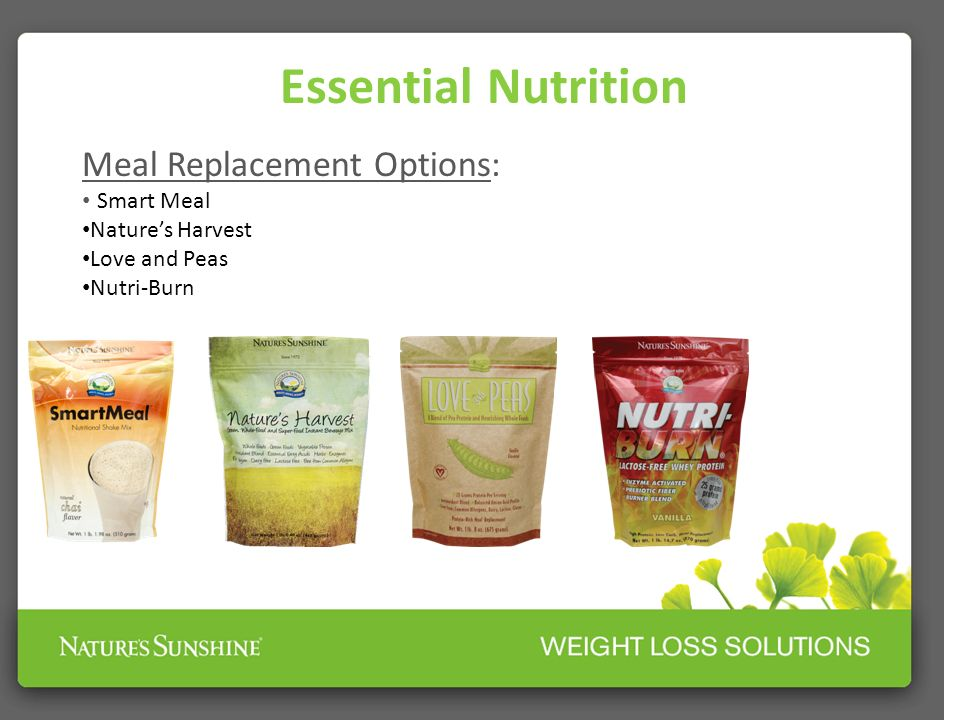 Essential Nutrition Meal Replacement Options: Smart Meal