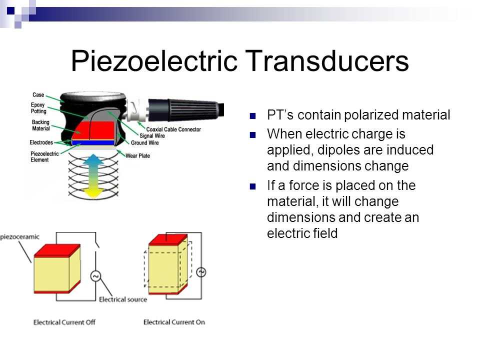 Piezoelectric Transducers