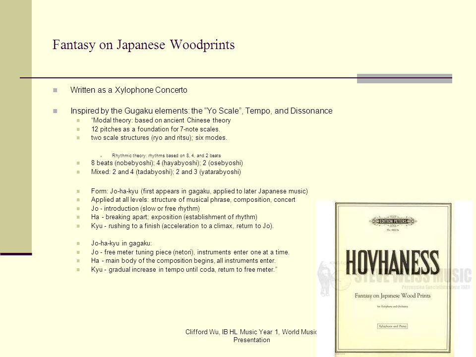 Fantasy on Japanese Woodprints