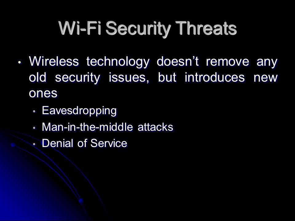 Wi-Fi Security Threats