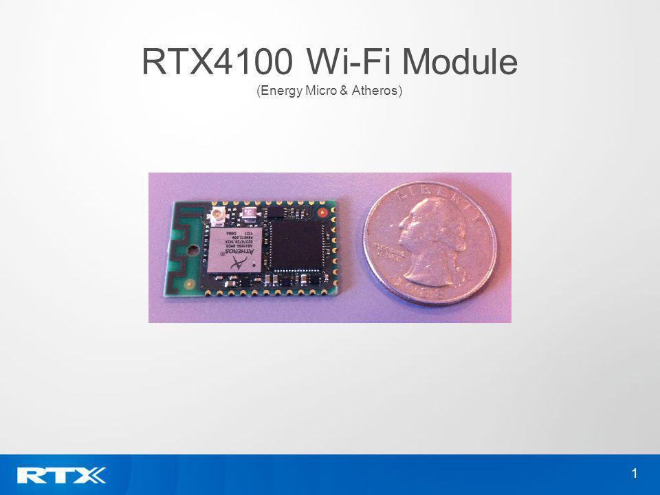 RTX4100 Wi-Fi Module (Energy Micro & Atheros)