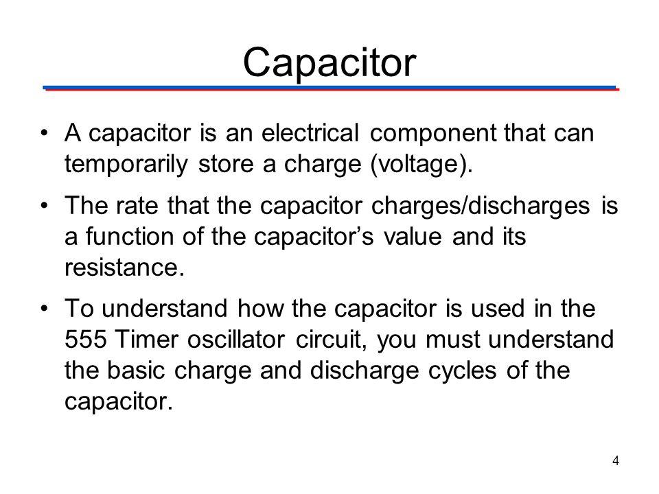 555 Timer Digital Electronics TM. 1.2 Introduction to Analog. Capacitor.