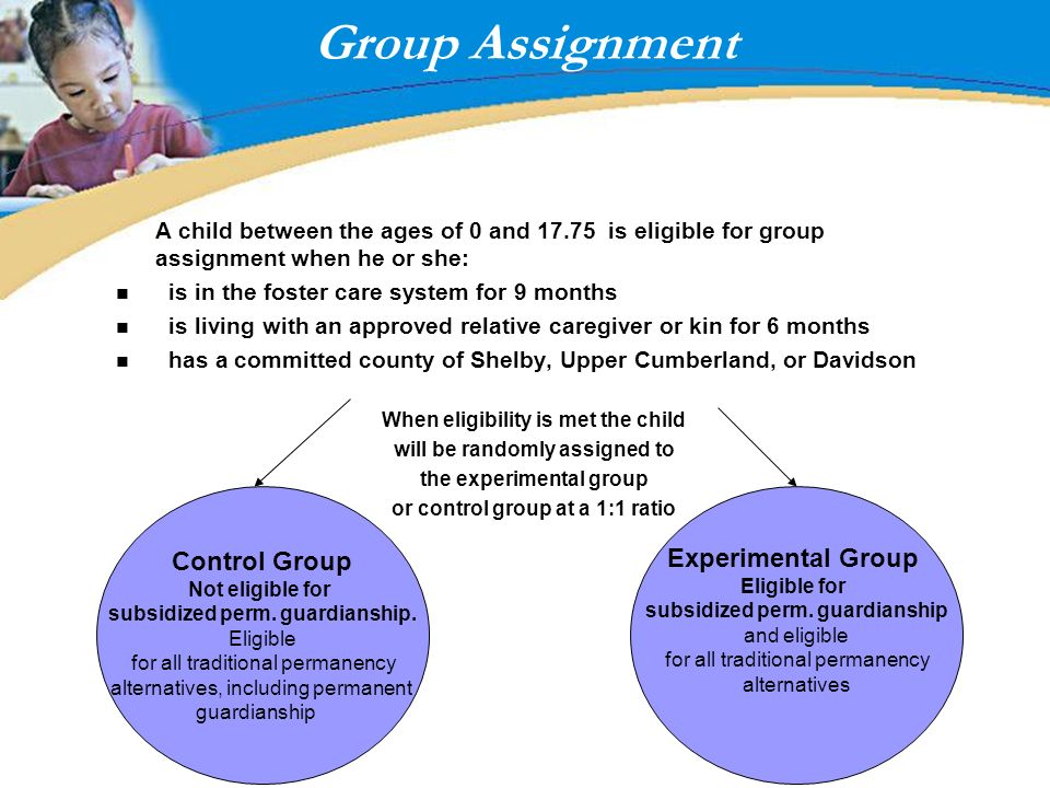 Group Assignment Control Group Experimental Group